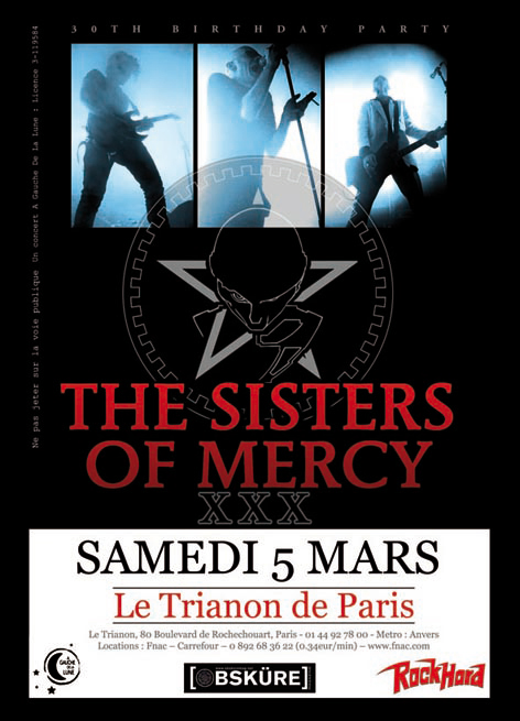 The Sisters Of Mercy - Paris Trianon 2011